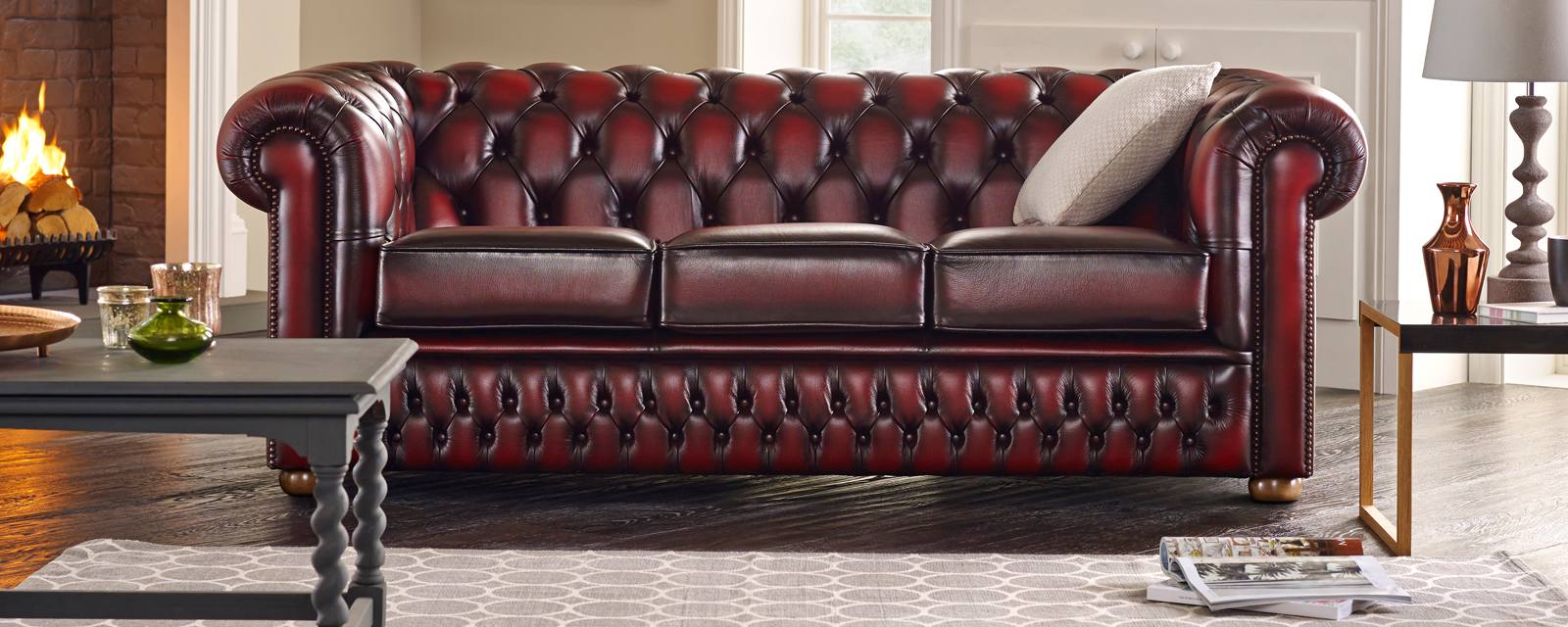 How To Clean You Vintage Rugs + Leather Sofas